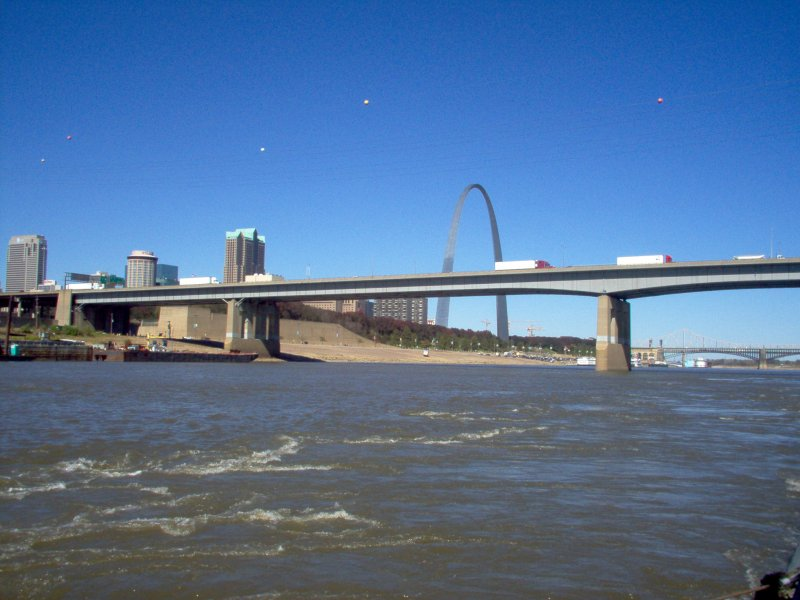 Mississippi River by St. Louis