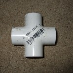 "1/2"" PVC 4-Way Cross"