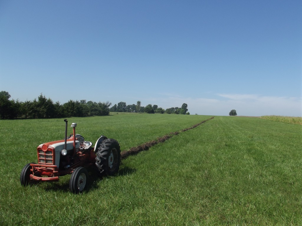LFF 8-31-14, 861, Plowing, Big Field, Farm