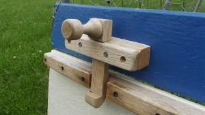 LFF Homemade Wood Door Latch