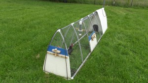 LFF Small PVC Chicken Tractor