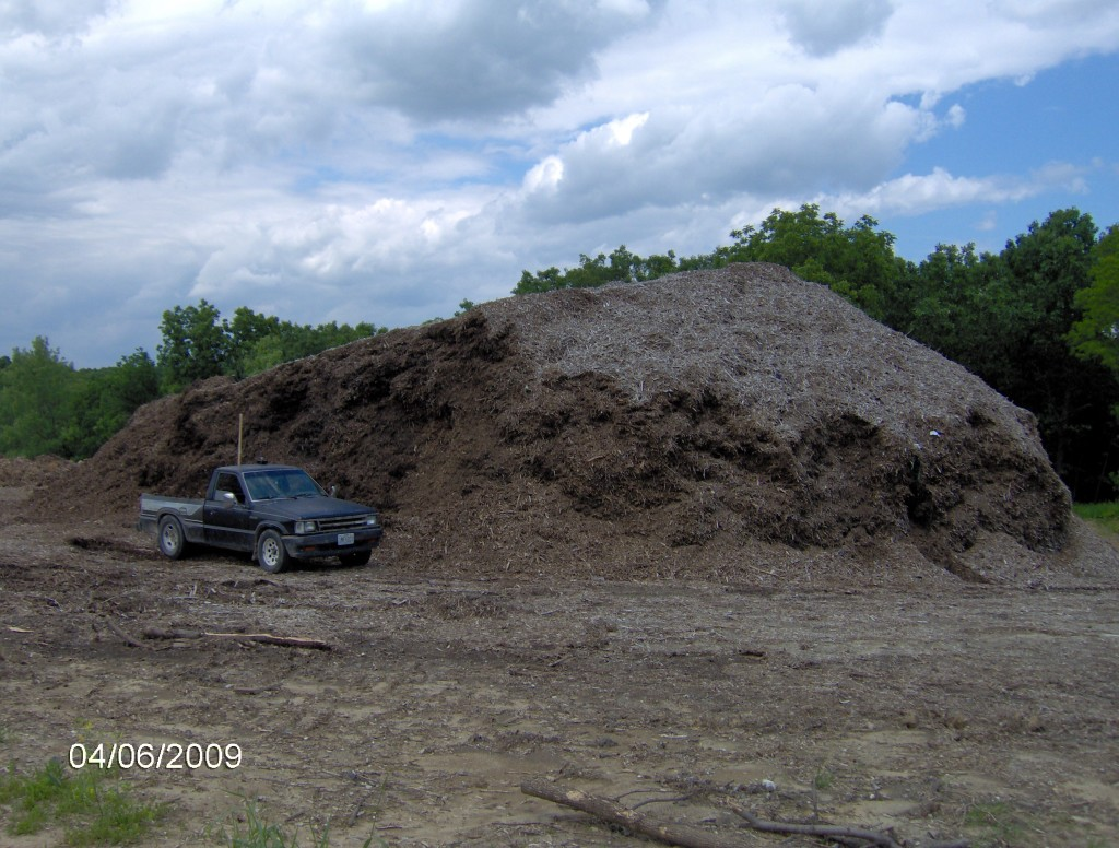 Kirksville's Giant Mulch Pile
