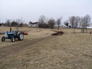 LFF Building a Mulch Road